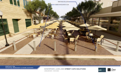 Downtown Outdoor Seating: A Pedestrian-Only Kentucky Avenue